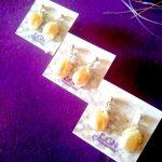 Pendientes perlas de río EGN Creaciones