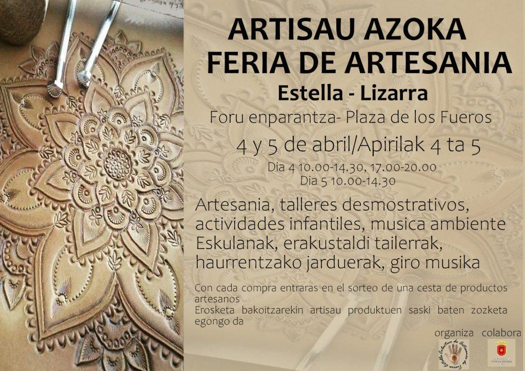 Cartel Feria Artesanía de Semana Santa 2021